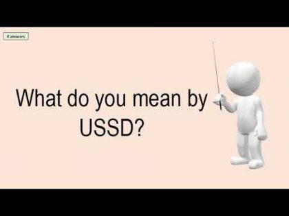 USSD Gateway – What Do You Mean By USSD